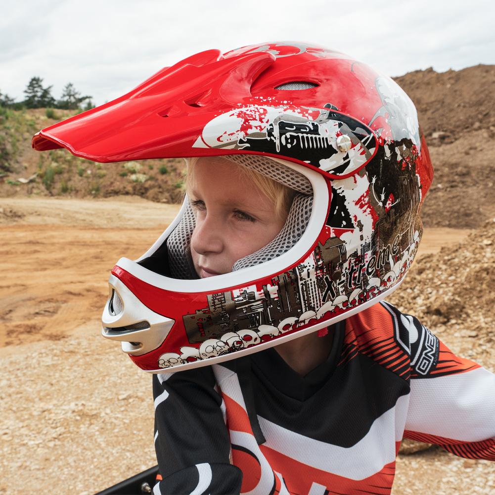 X-treme Kinder Cross Helm