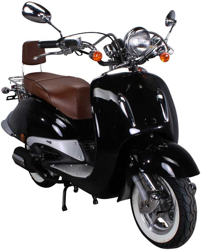 Retro Classic Scooter ZN125T-E
